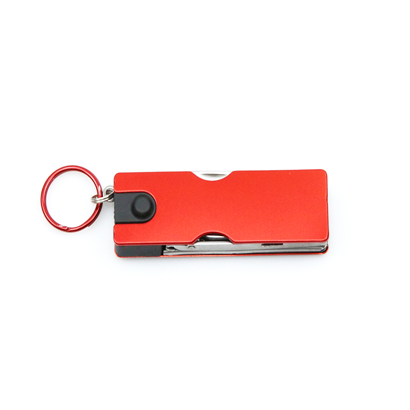 Multifunction Mini Fashion Keychain Swiss Knife LED Lights Nail Clippers Earpick Scissors Tweezers Pocket Hand Tools in Knives from Tools