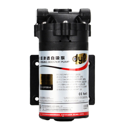 Water Filter Booster 24VDC Water Pump High Pressure Booster for Reverse Osmosis System 50/75 GPD Machine