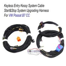 Keyless Entry Kessy system cable Start stop System harness Wire Cable For VW Passat B7 CC