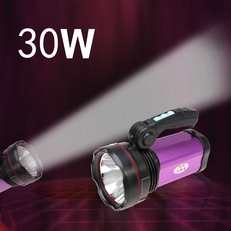 Brillante 30 W Al Aire Libre LLEVÓ la Linterna 800lm Luz Manija Portable Banco d
