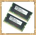 Ноутбук памяти для Elpida DDR 2 ГБ 2 x 1 ГБ 333 мГц PC2700 333 ноутбук оперативной памяти 1 г 200pin
