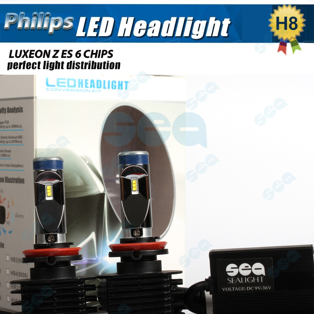 H4 9003 HB2 H8 H9 H11 H7 high power 90W Set 12000LM Set Led Headlight Bulb