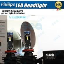 H4 9003 HB2 H7 H8 H9 H11 высокой мощности 90 W/Set 12000LM/Set светодиодные Фары Лампа Conversion Kit 6000 К Белый Автомобиль Plug & Играть Супер яркий