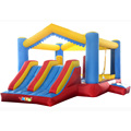 Nylon Residencial casa de Brinco Inflables Para El Alquiler, Carrera de Obstáculos Inflables juguetes para niños