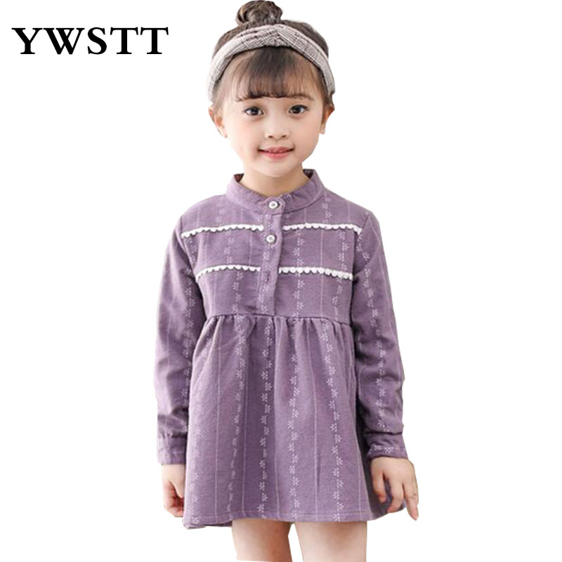 Girls Dress Spring 2018 Children Clothing Cotton Girls Clothes Kids Dresses for Girls Holiday Party Princess Dress Toddle