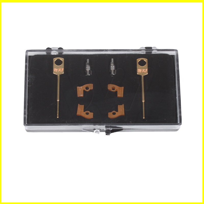 2 Sets box Dental Lab Technician Instrument MK1 Attachments Parts for Metal Partials Dental Material Products