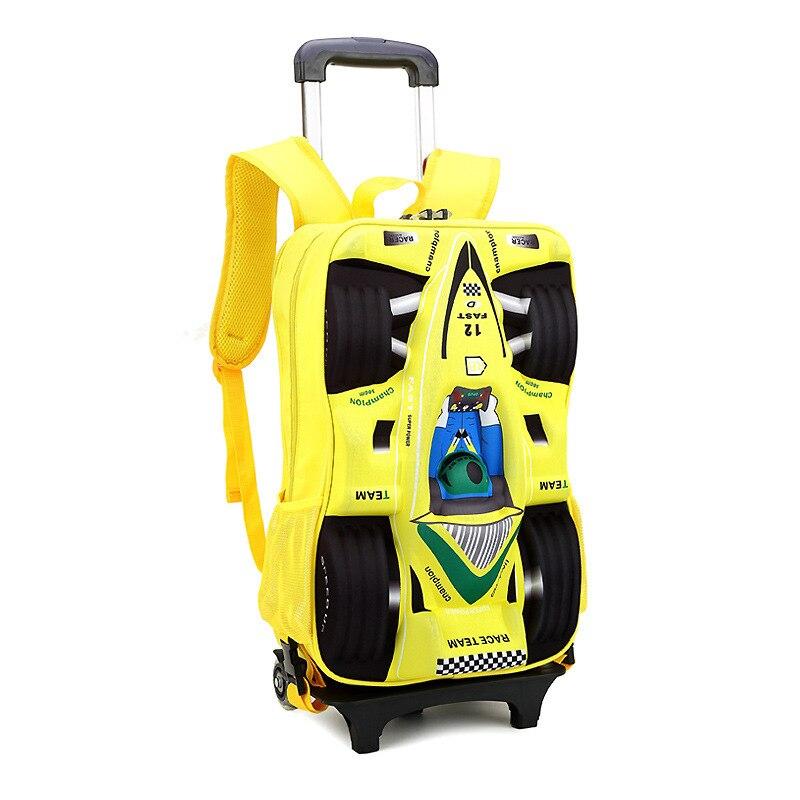 Aliexpress.com : Buy Children Trolley School Bag Children's ...
