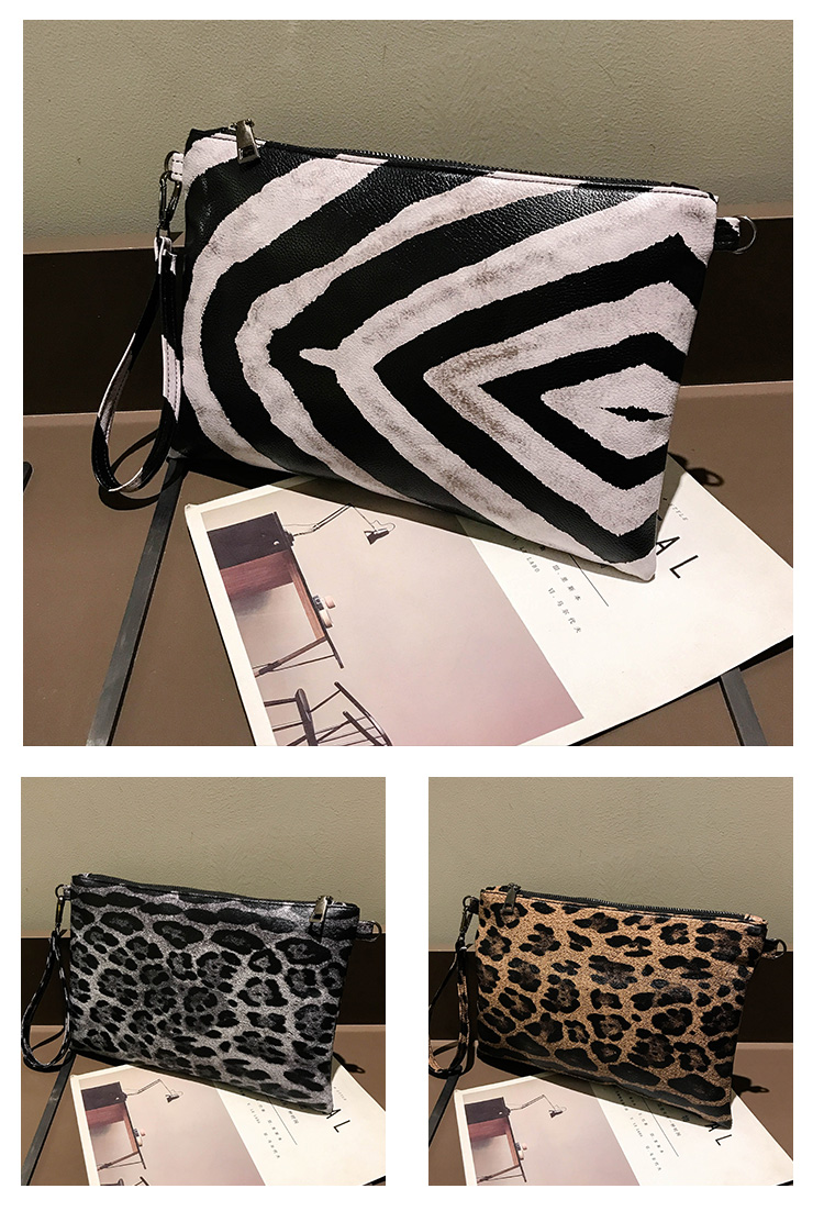 Bolsa Clutch Animal Print