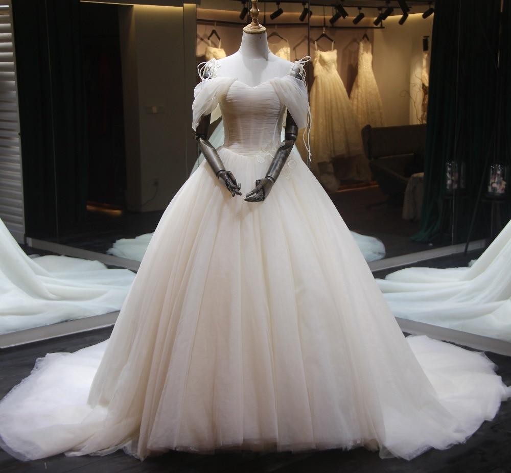 Fabulous New Long Wedding Dress 2019 Sweetheart Ball Gown