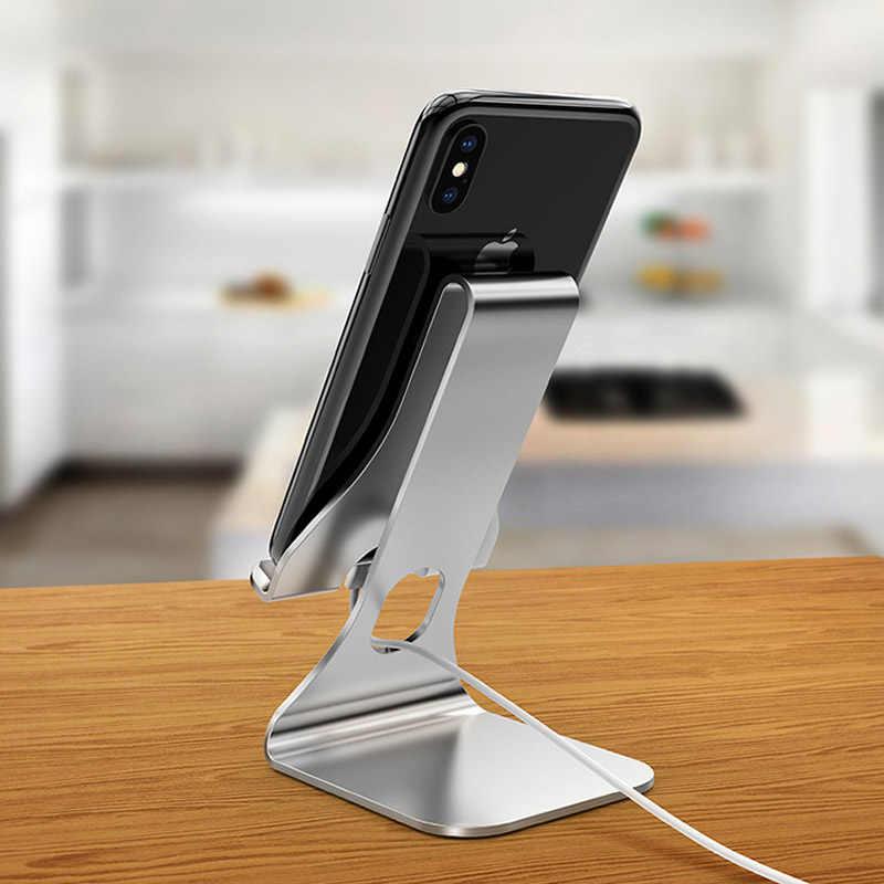 Renkli temel Tablet standı alüminyum alaşımlı Tablet telefon tutucu dağı 3.5-6 inç telefon için 7-12 inç Tablet marsgine