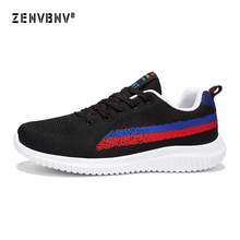 Zenvbnv mens running shoes cool light breathable sport for men sneakers outdoor jogging walking big size 39-48