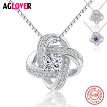 цены Full CZ Paved 15mm Spinner Geometry Necklaces & Pendants 925 Sterling Silver Chain Vintage Accessories Women Jewelry