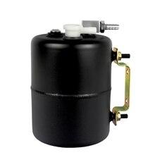 Тормозная вакуумная канистра резервуар из алюминиевого сплава вакуумный усилитель тормозов может универсальный для Chevy Mopar для дрифтерной дорожки черный