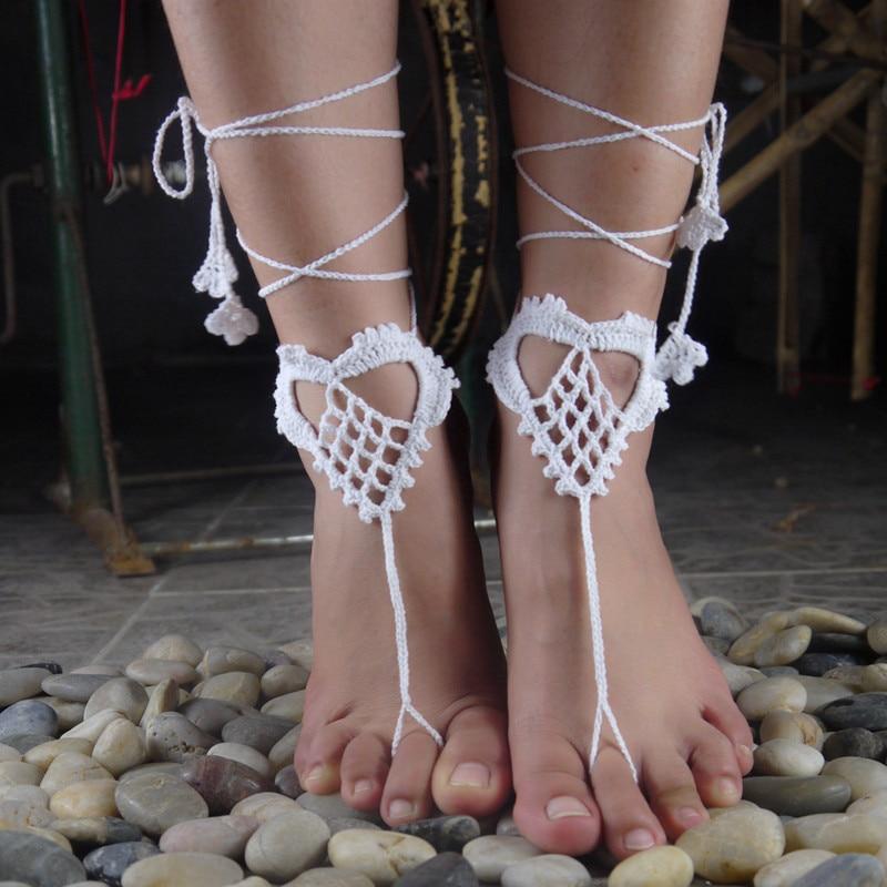 Interesting. You Beach wedding barefoot sandal crochet congratulate, your