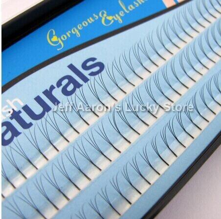 Handmake 3 سینی 102 D-Lash Curl طبیعی سیاه مژه - آرایش