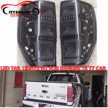 CITYCARAUTO REAR LED TAIL LIGHTS LAMP BACK BRAKE STOPING WORKING LIGHTS TURNING FEATURE FIT FOR FORD RANGER T6 T7 TXL TL 2012-17