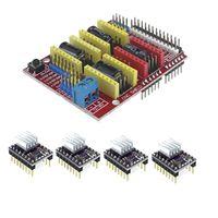 Smart Electronics Cnc Shield V3 Engraving Machine 3D Printer 4pcs DRV8825 Driver Expansion Board