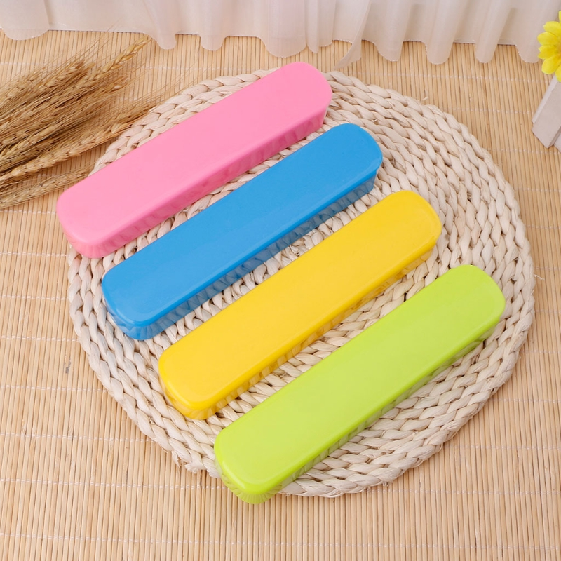 Portable Chopsticks Box Fork Spoons Storage Case Cutlery Traveling Camping