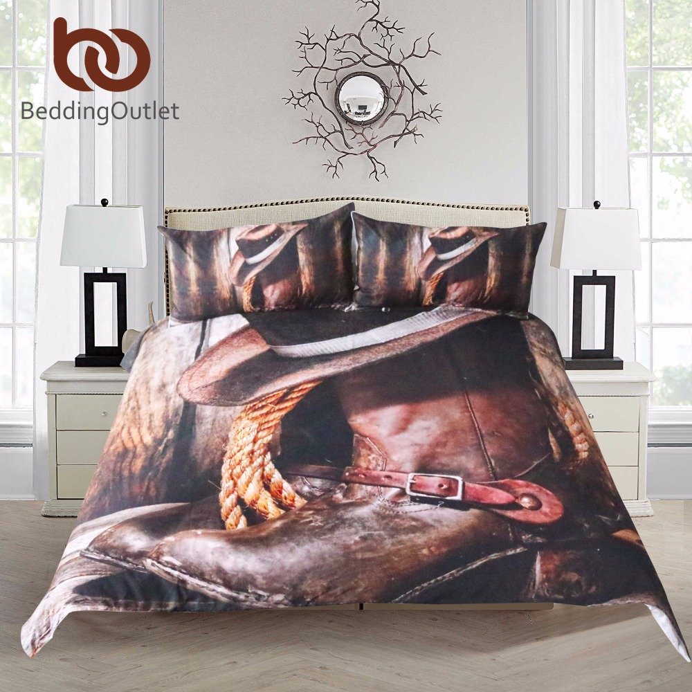 BeddingOutlet Cool Western Cowboy Bedding Set Hat On The Boots Duvet Cover Set with Pillowcases Super Soft Bedclothes 3 PiecesBeddingOutlet Cool Western Cowboy Bedding Set Hat On The Boots Duvet Cover Set with Pillowcases Super Soft Bedclothes 3 Pieces