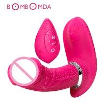 Sex Shop Dildo Vibrator Sex Toy for Woman G spot Clitoris Stimulator Female Masturbator USB Rechargeable