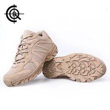 CQB Winter Panther Cross-country Tactical Outdoor Shoes Hombres Escalada Zapatos de senderismo Antideslizante Botas de absorción de Choque CXZ0245