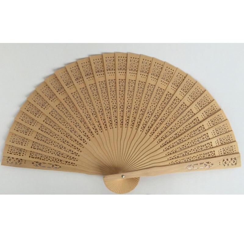 30 unids/lote decotive tallado madera mano ventilador promoción regalos-in Obsequios para fiestas from Hogar y Mascotas    1