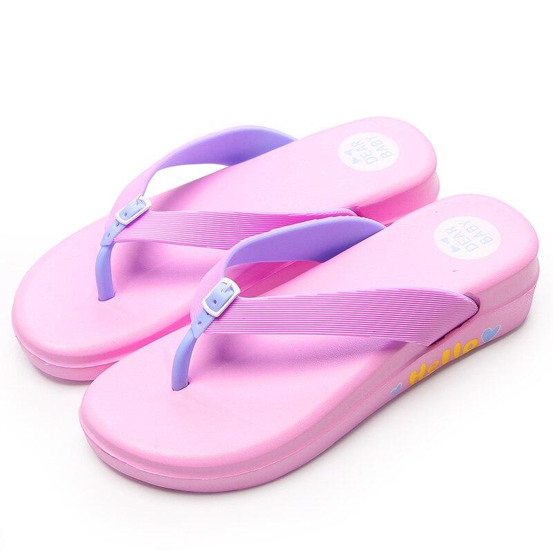 2017 New Arrival Summer Korean Style Women's Flip Flops Thick-bottom Slippers Indoor Brand Flip Flops Beach Slippers for Women krorche brand new unisex lovers flip flops indoor