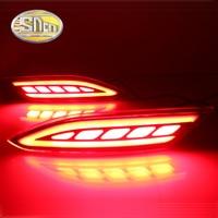 SNCN Multi Function Reflector LED Rear Fog Lamp Bumper Light Brake Light Turning Signal Light For
