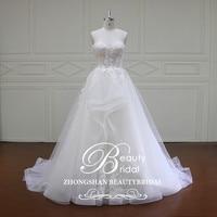 plus size princess Flowers A line Lace Wedding Dresses Vintage Wedding Gowns vestido de noiva Robe De Mariage XF16019