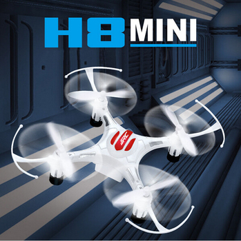 Original JJRC H8 Mini Drone 2.4G 4CH 6 Axis RTF RC Quadcopter 360 Degree Roll Over CF mode with One Press Return Dron
