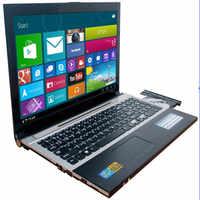 8G RAM 120G SSD 1000G HDD de 15,6 pulgadas 1920*1080P Intel Core i7-5500U cpu juego portátil Win 7/10 Notebook con DVD-RW para la oficina en casa