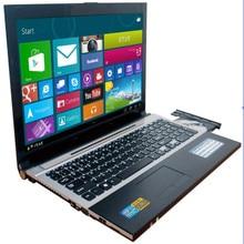 8G ram 120G SSD 1000 GB HDD 15,6 дюймов 1920*1080 P Intel Core i7 cpu игровой ноутбук с системой Windows 7/10 ноутбук с DVD-RW для офиса дома