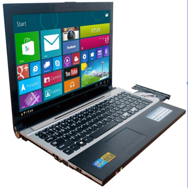 8G RAM 120G SSD 1000GB HDD 15.6inch 1920*1080P Intel Core i7 cpu Gaming Laptop Windows 7/10 Notebook with DVD RW For Office Home