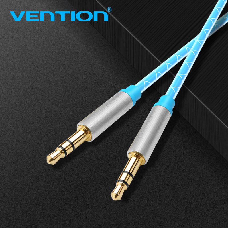 Vention Audio Jack 3.5mm Aux Cable Male To Male Round 3 ...