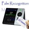 Hybird биометрический пальмовое время посещаемости работник электронная посещаемость лица и регистратор времени с дактилоскопией 13,56 МГц кар...