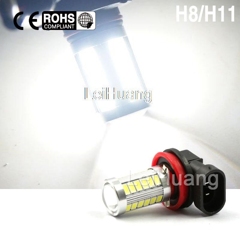 H11 H8 Led white High Power 5730 33 LED 8W led car Fog lamp Fog Light