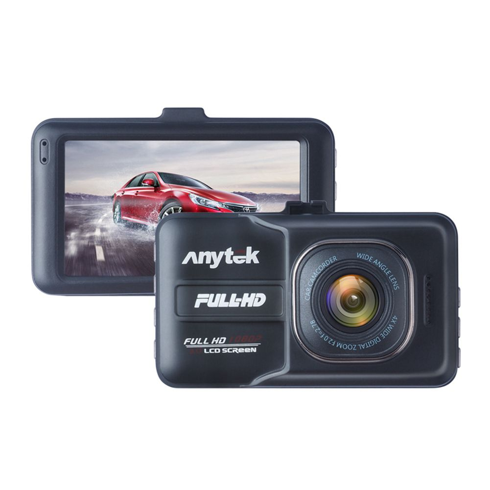 Anytek New A98 Car DVR Camera Recorder Novatek Dash Cam Full HD 1080P 3.0 inch LCD G-Sensor Night Vision Car Camcorder DVR anytek b50 2k 4 0 inch dash camera car dvr with mstar chip support g sensor wrd motion detection 1080p full hd car recorder