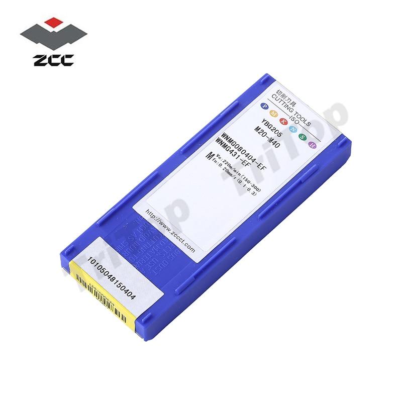 WNMG 080404 -EF YBG205 zcc.ct Tekinimo įdėklai wnmg080404 CNC - Staklės ir priedai - Nuotrauka 6