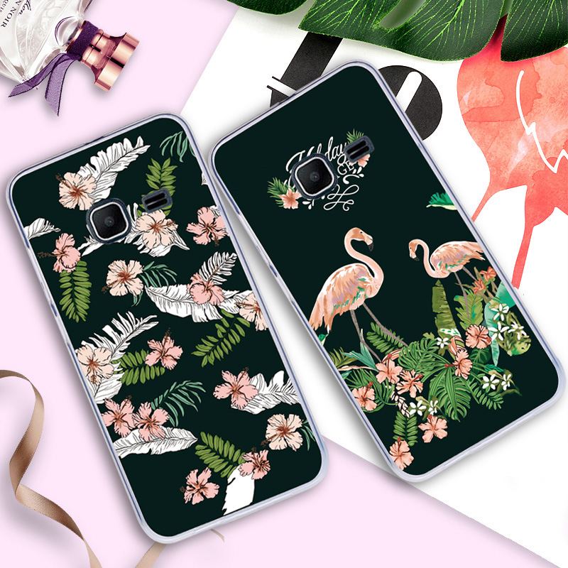 Case For <font><b>Samsung</b></font> <font><b>Galaxy</b></font> <font><b>J1</b></font> Nxt <font><b>J1</b></font> <font><b>mini</b></font> <font><b>2016</b></font> <font><b>J105H</b></font> J105 <font><b>SM</b></font>-<font><b>J105H</b></font> Back Cover Silicone Painted Flower Animal Flamingo Phone Bags image