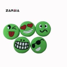 100pcs Green silcone Emoji tennis vibration dampeners,tennis racket vibration dampeners,Reduce Tenis Racquet Vibration все цены