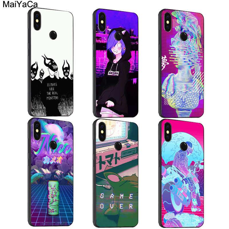 MaiYaCa эстетика vaporwave арт чехол для Xiao mi Red Note 7 8 Pro 6 5 Plus 7A 6A 5A 4X A2 Lite 9 SE K20 9T