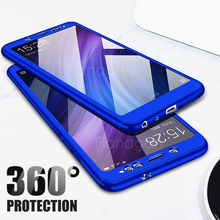 FlanaGan 360 Full Cover Phone Case For Xiaomi Redmi 6 6A 6 Pro Shockproof Protection Cover For Redmi S2 6 Pro 6A Cover Cases