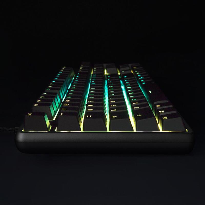 Image 3 - Xiaomi RGB Backlight 104Keys USB Wired Gaming Keyboard for PC Laptop Desktop high quility Xiaomi Keyboard for gaming working new-in Keyboards from Computer & Office