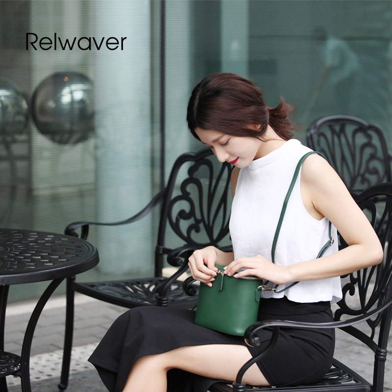 Relwaver cowhide split leather flap shoulder bags crossbody bags for women casual mini box shape women messenger bags wome bag 2017 fashion all match retro split leather women bag top grade small shoulder bags multilayer mini chain women messenger bags