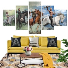 5 Piece Shooting Modern Decorative Game Far Cry Poster  And Prints Canvas Art Wall Paintings For Home Decor