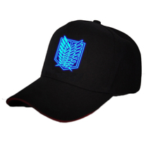 Luminous Attack On Titan Logo Cap