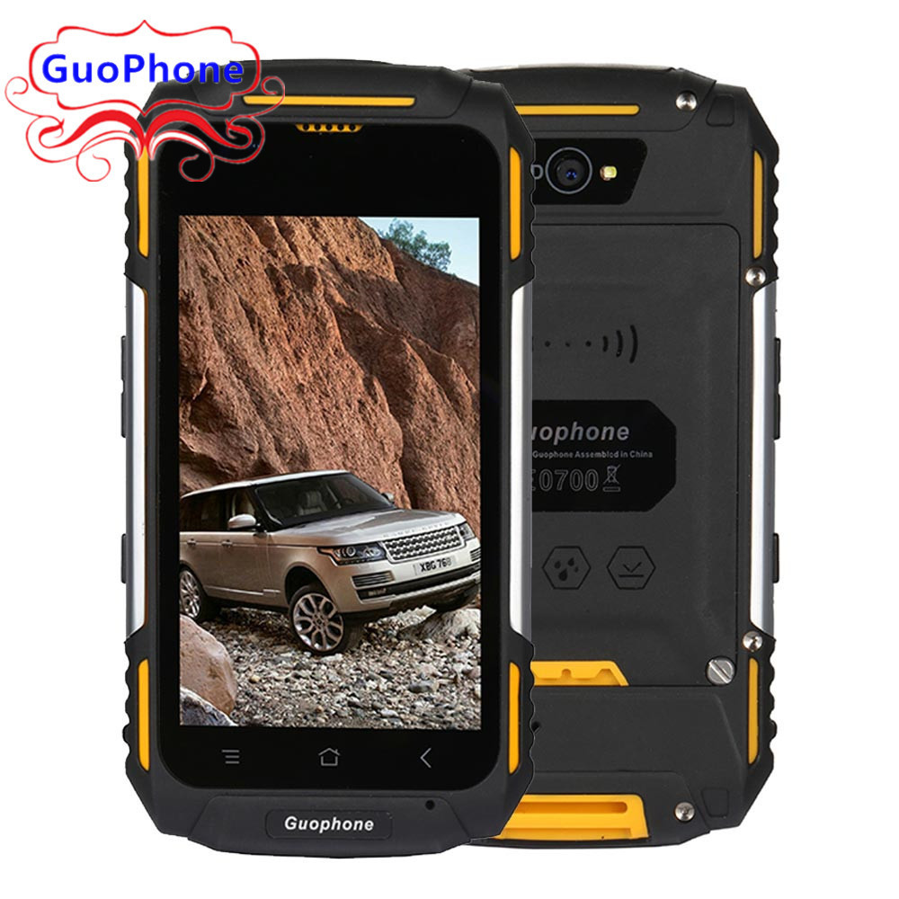 GuoPhone V8+ V88 4.0 Phone MTK6580 Quad Core Android 5.1 3G WCDMA GPS 1GB RAM 8GB ROM 3200mAh Waterproof Shockproof SmartPhone