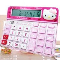 Large Desktop Hello Kitty Calculator Cute Pink