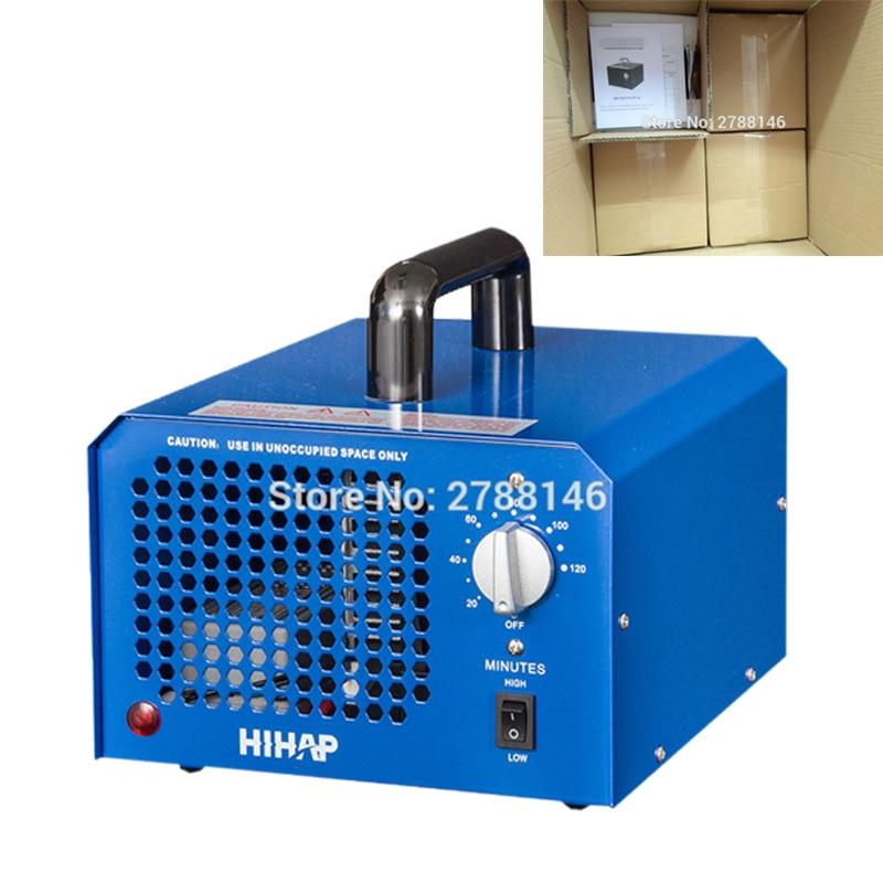 HIHAP 7G ozon generator pembersih udara dengan ozon adjuster dari output ozon 3.5g-7.0g (4PCS / CTN)