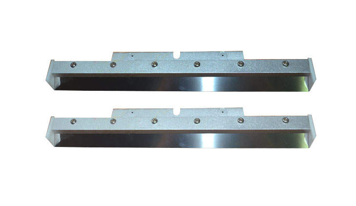 MPM UP3000 metal squeegee stainless steel,rubber blade 500-599mm used in printing machine  mpm up2000 metal squeegee